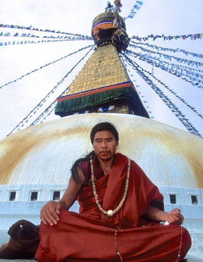 Shaman in Nepal