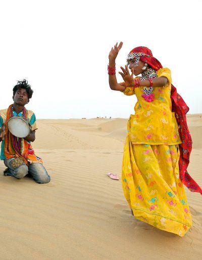 Dancing in the Thar desert