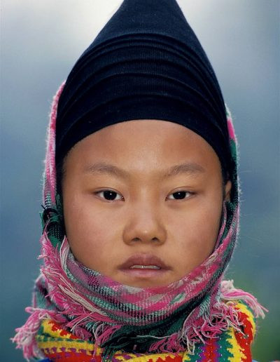 Girl from the White Hmong tribe.