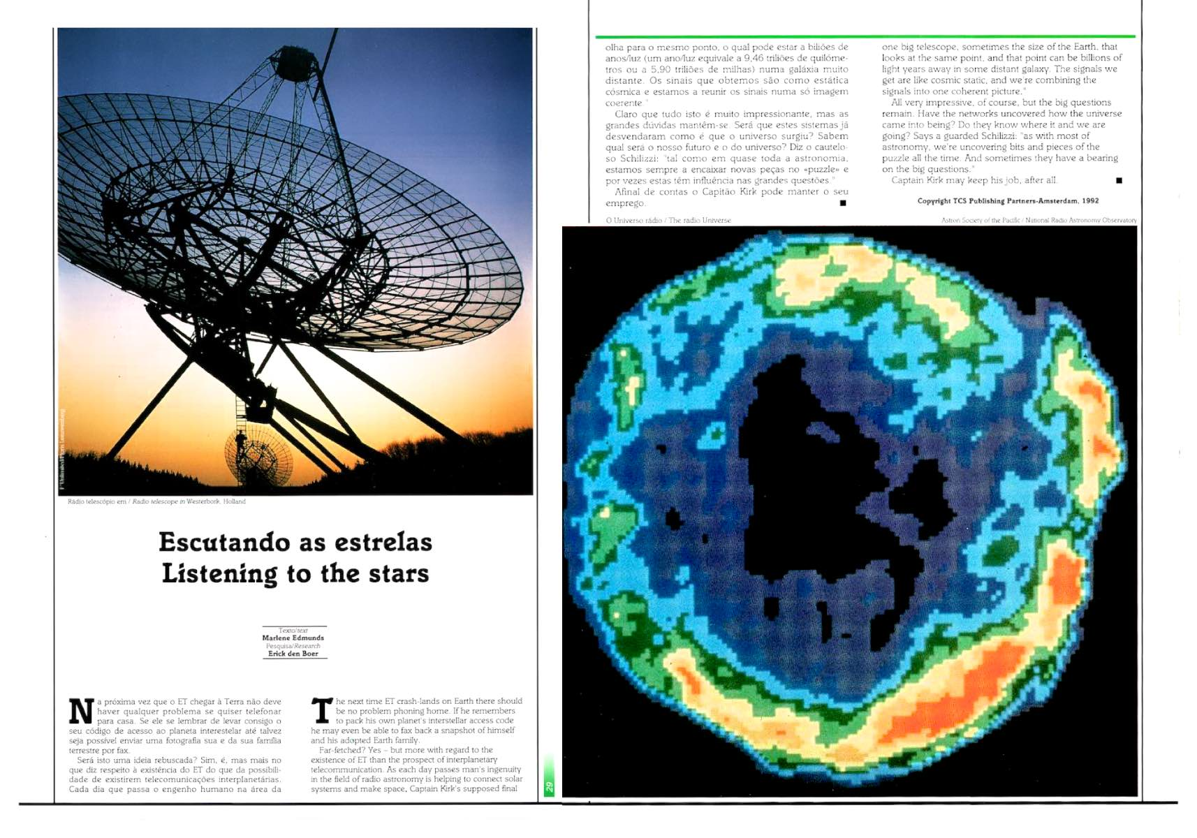 Technology magazine dubbel spreads by Floris Leeuwenberg