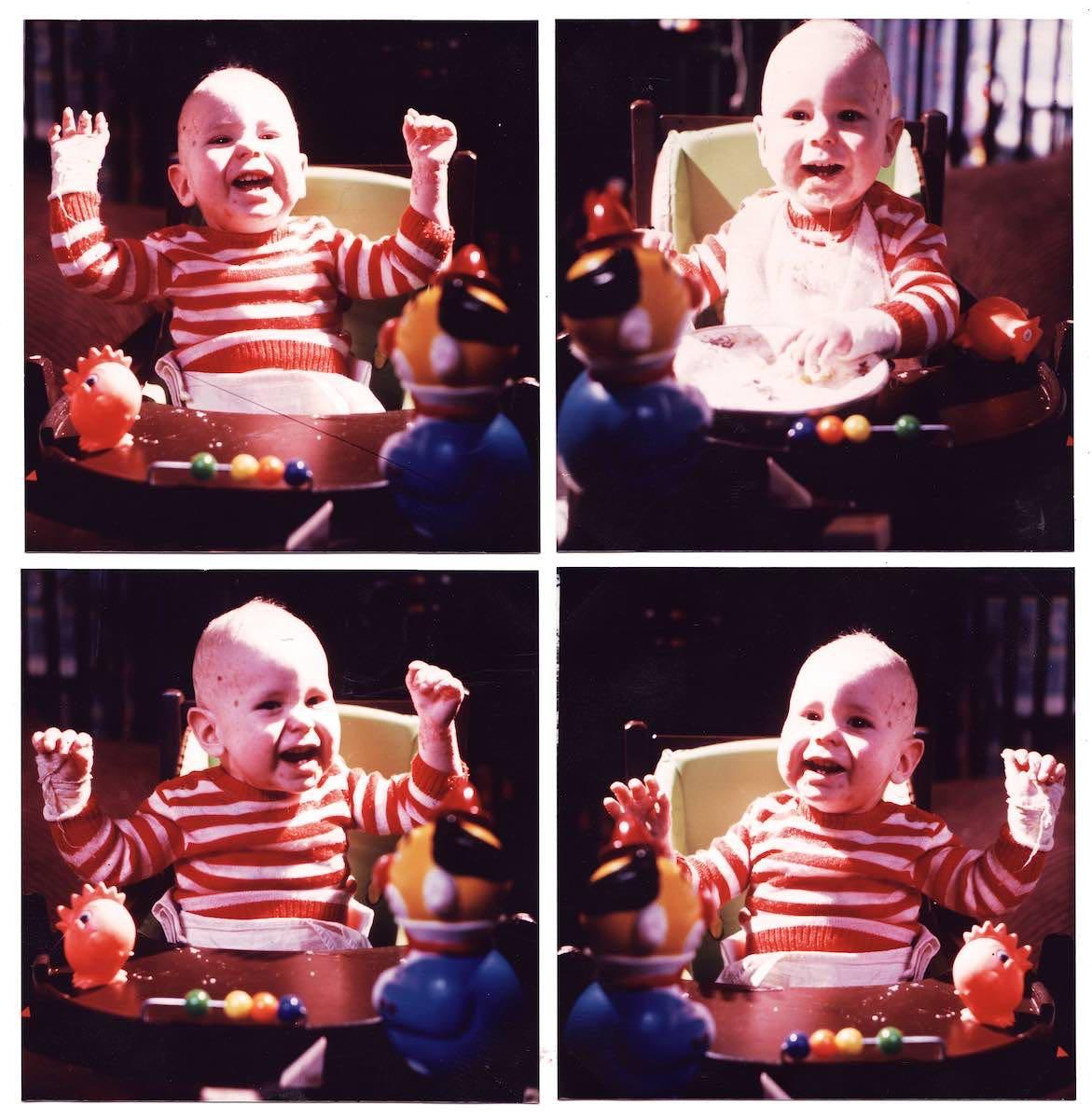 Zijn eerste verjaardag  16 April 1979   Bor'n to be wild  The Live of Bor