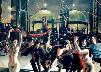 Schilderij uit zijn New york tijd