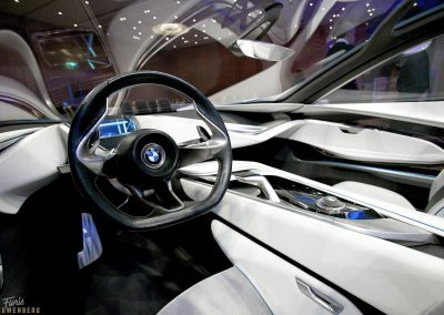 BMW Vision interior