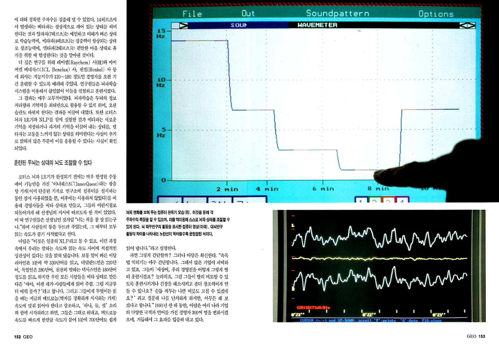 Technology magazine dubbel spreads by Floris Leeuwenberg