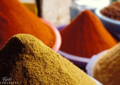 Spices and herbs are an intgeral part of every souk.